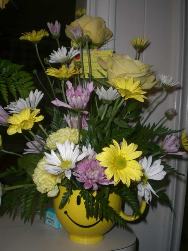 Flowers from Baggetts and Kostas